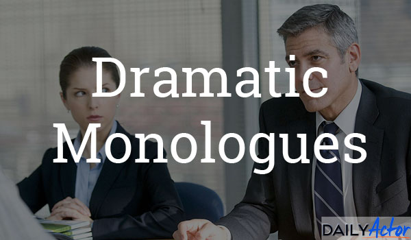 Dramatic Monologues