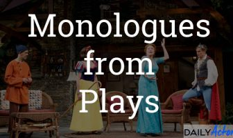 Monologues from Plays
