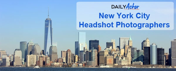 NYC Headshot Photographers