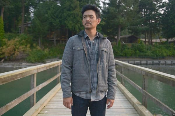 Actor John Cho in Searching