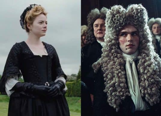 Emma Stone and Nicholas Hoult on Their Odd Auditions for 'The Favourite'