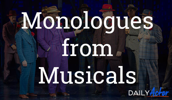 Monologues from Musicals
