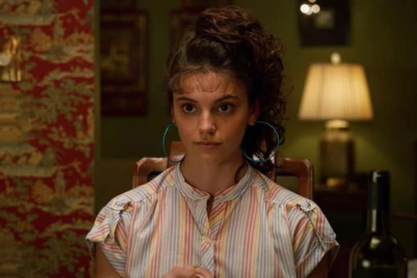 Actress Francesca Reale in Stranger Things