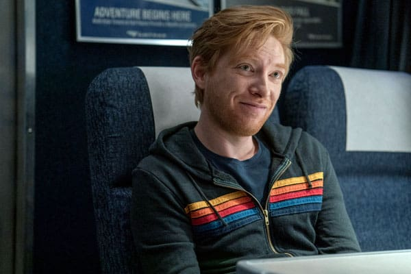 Actor Domnhall Gleeson